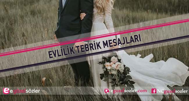 evlilik tebrik mesajları